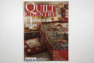 Quilt Country-verwarmende winter