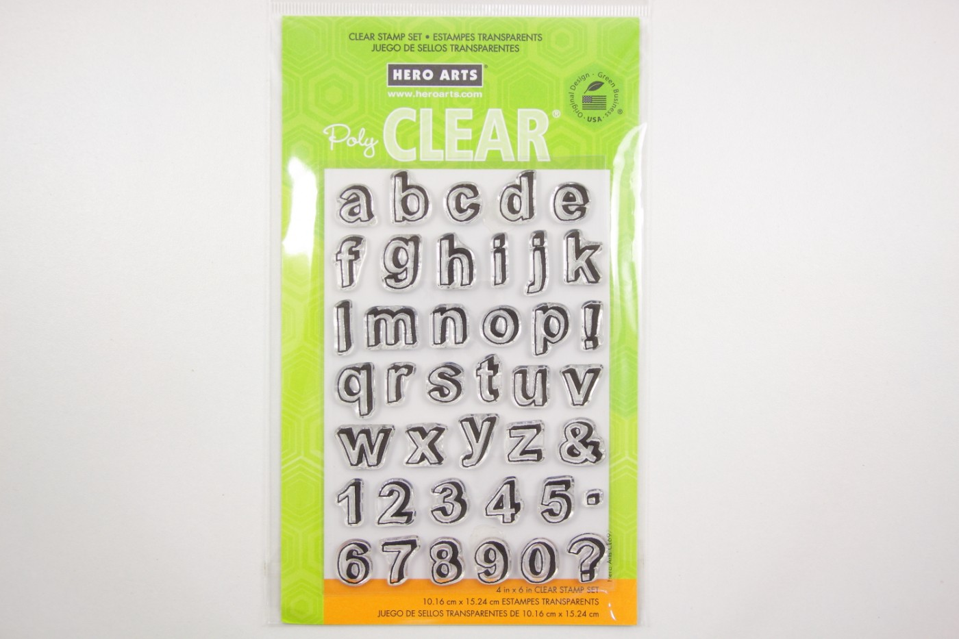 Blank stempel-Hero Arts-cling-letters-10