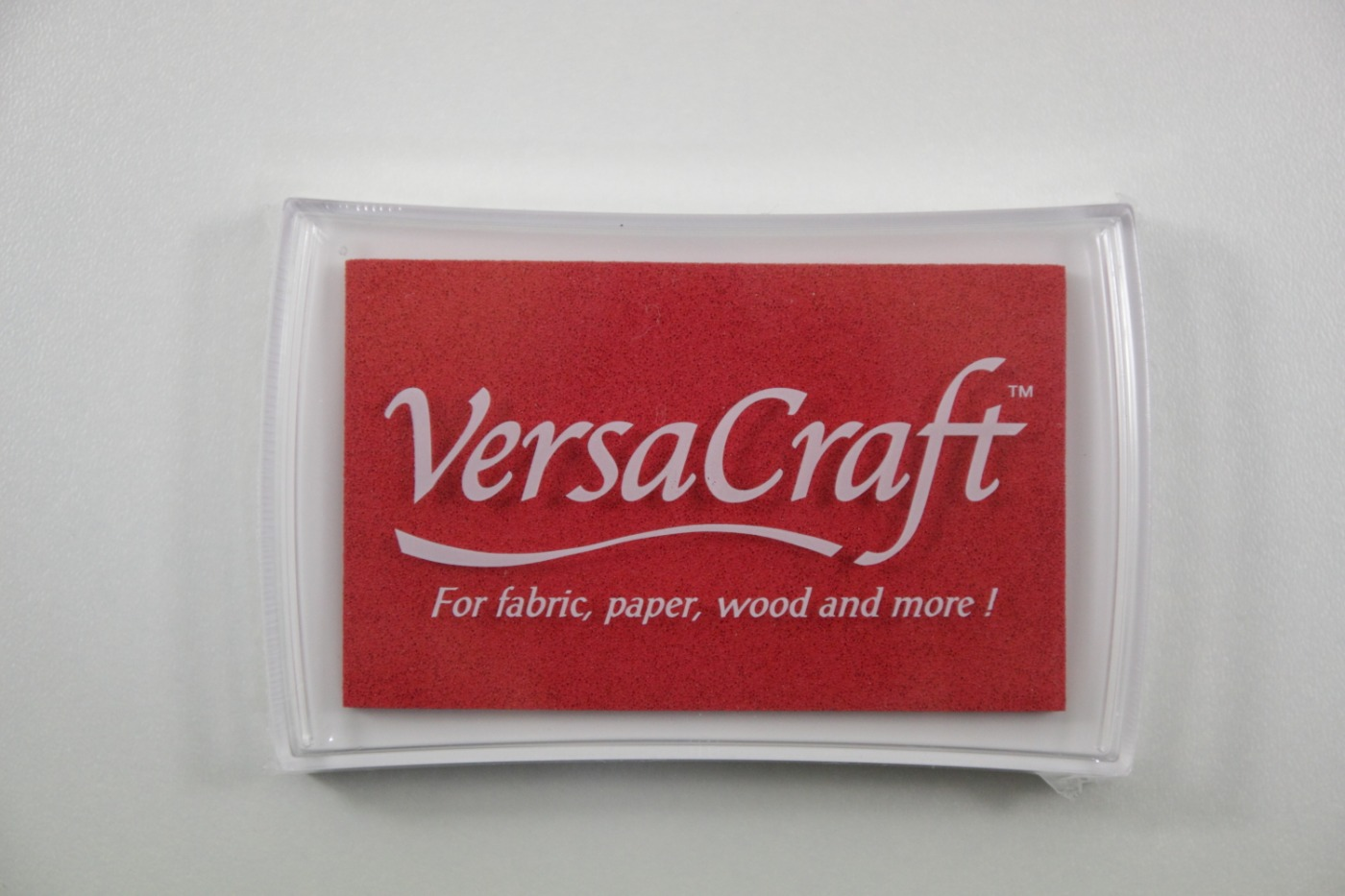 Stempelkussen-VersaCraft-Poppy Red-77x46