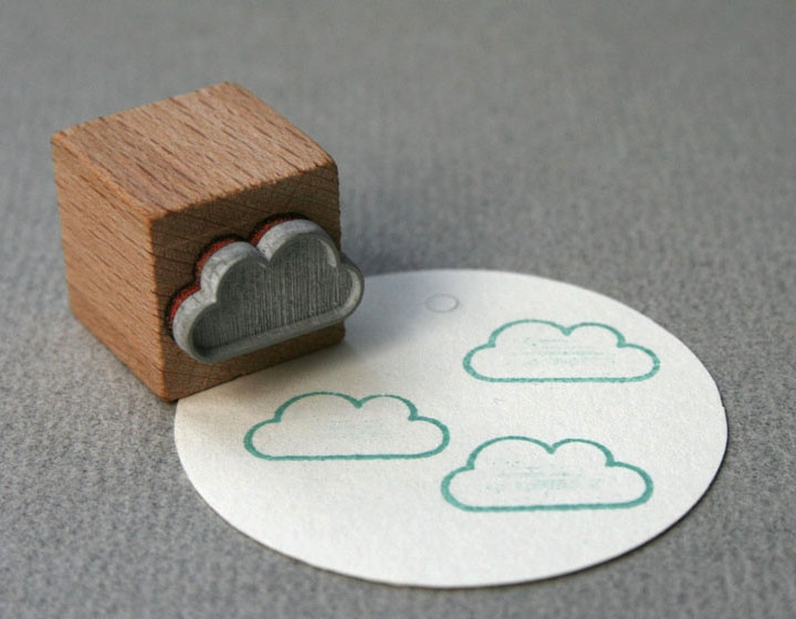 houten stempel-wolk-cloud-outline-perlen