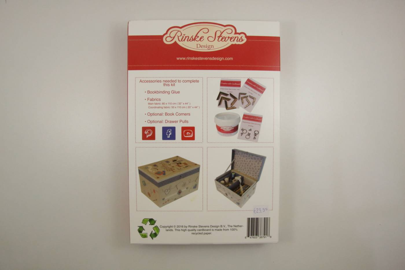 Kartonnagepakket-Big Sewing Box-31bx21dx