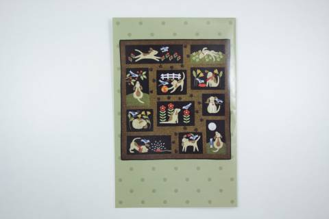 Quiltpatroon-You Lucky Dog-106x116 cm-Ap