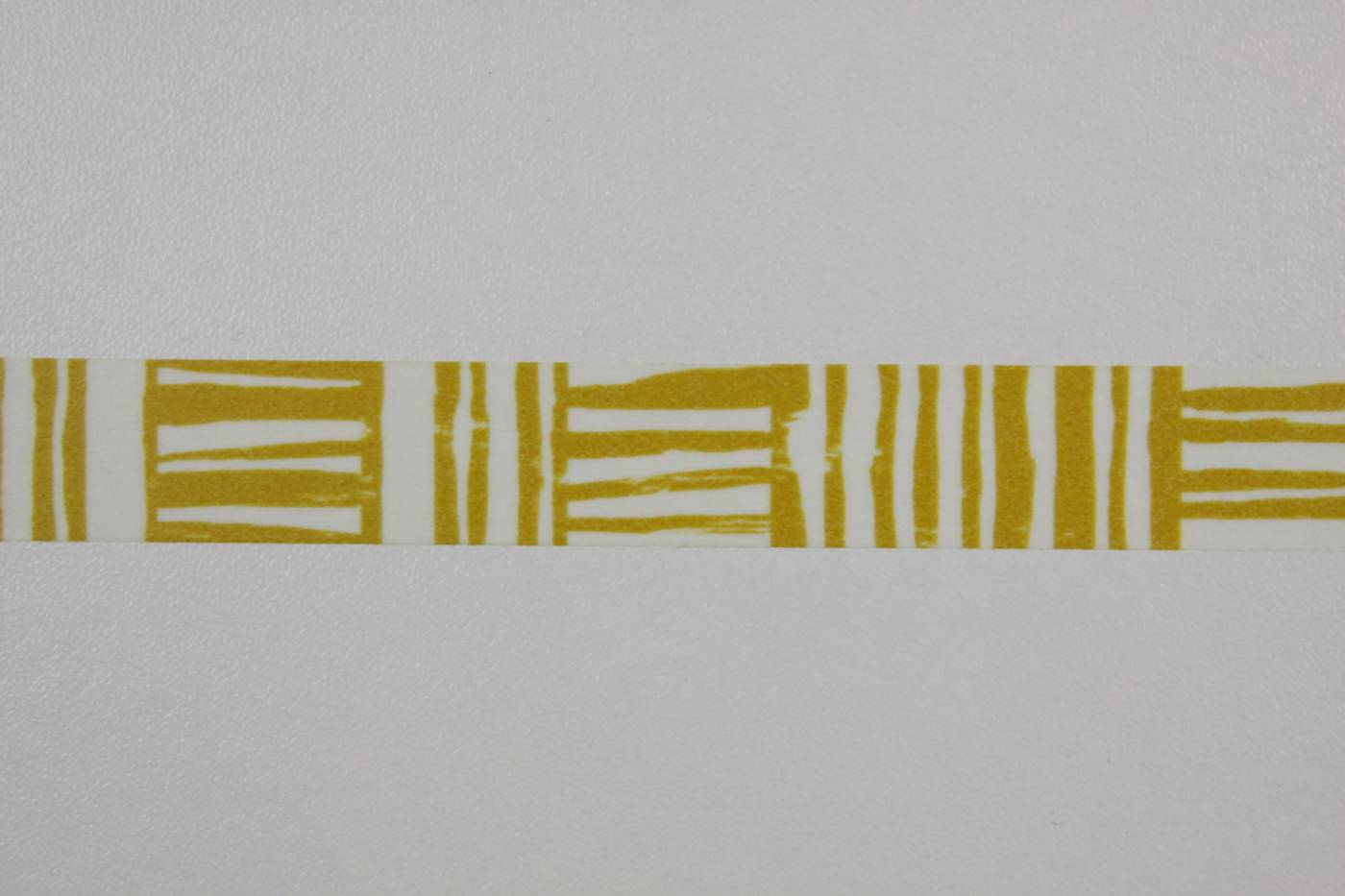 Washi tape-masking tape-wit-oker-streepp