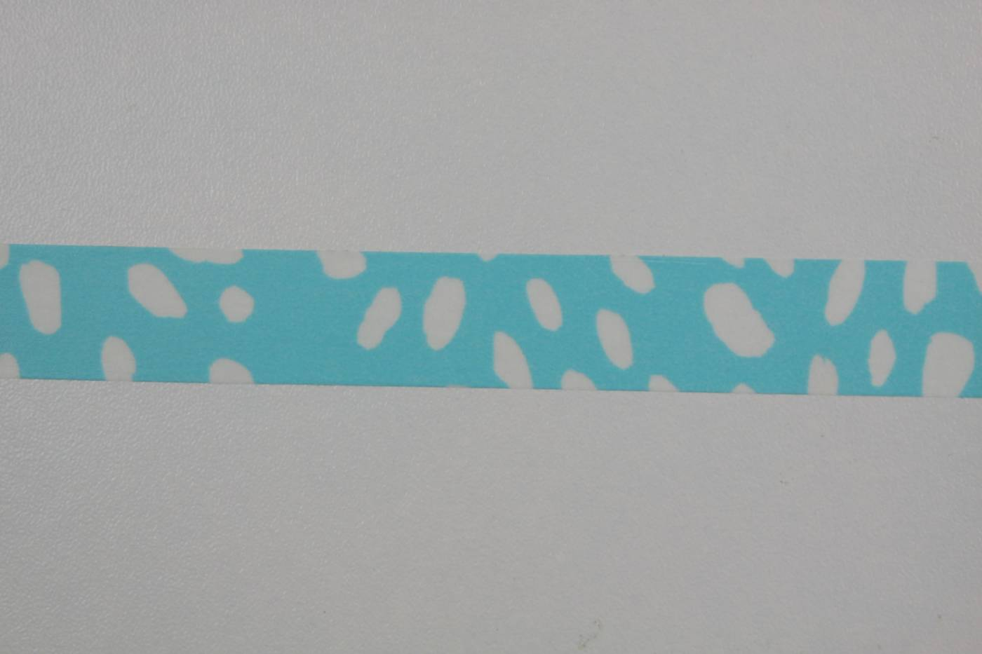 Washi tape-masking tape-aquablauw-wit ge