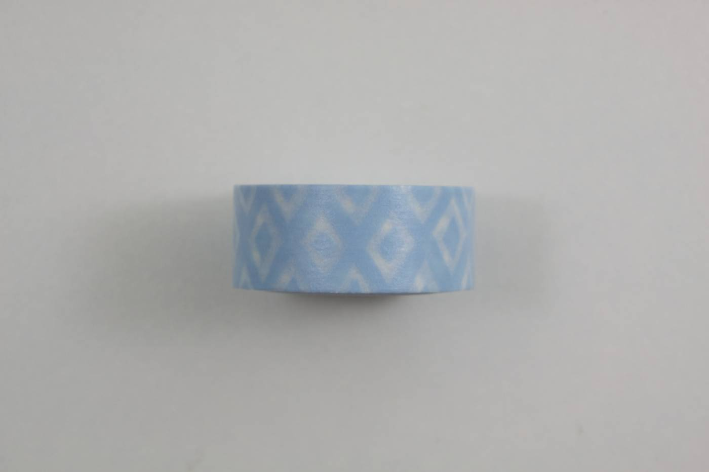Washi tape-masking tape-wit-lichtblauw-w