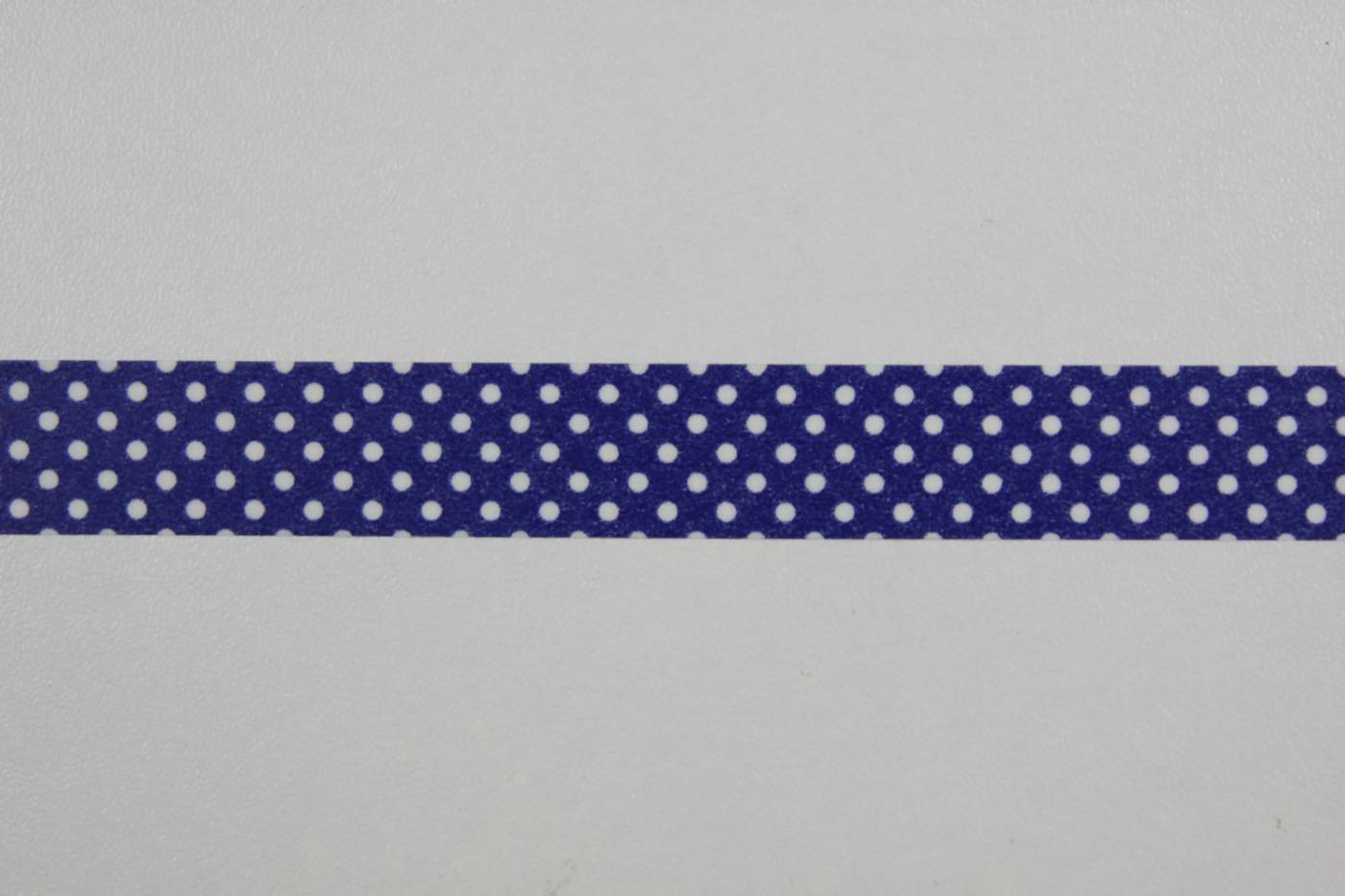 Washi tape-masking tape-koningsblauw-wit