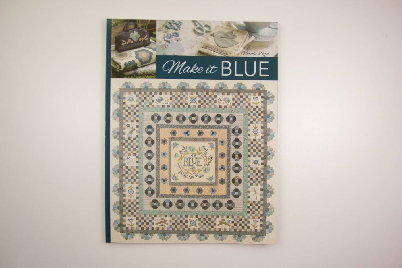Make it Blue-patchwork en applicatie-Nat