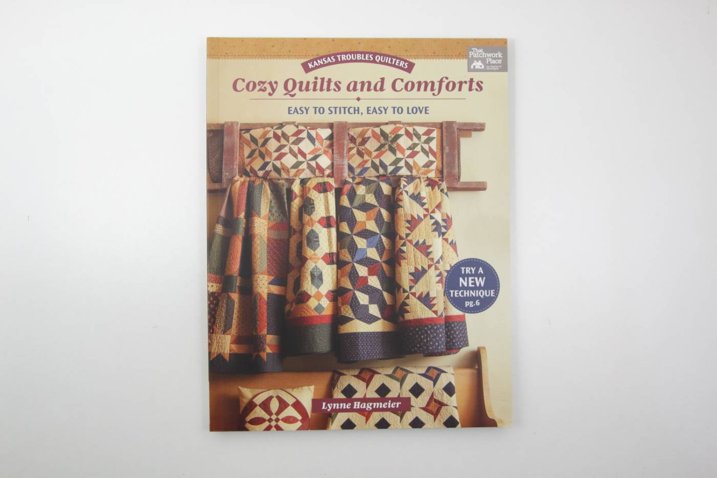 Cozy Quilt And Comforts-patchwork-Lynne