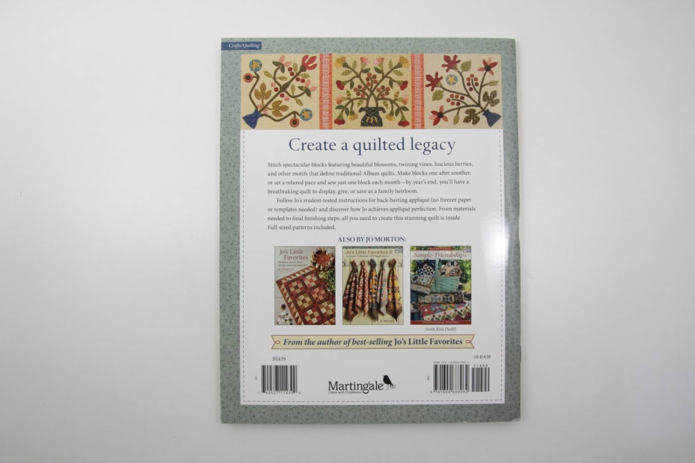 Jo's Floral Album-patchwork en applicati
