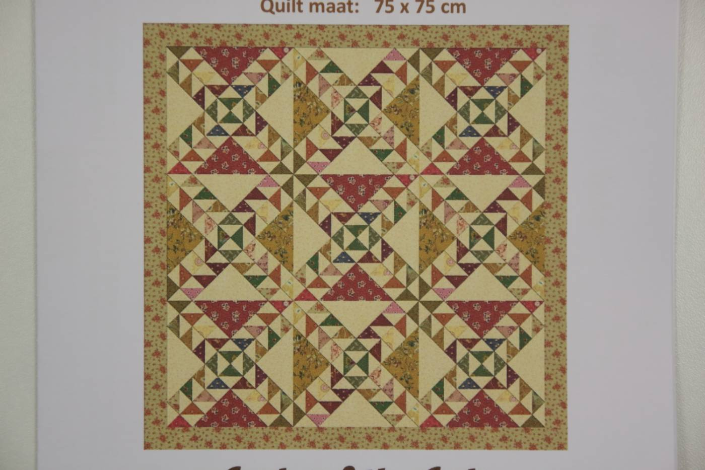 Quiltpatroon Lady of the Lake Craftluver