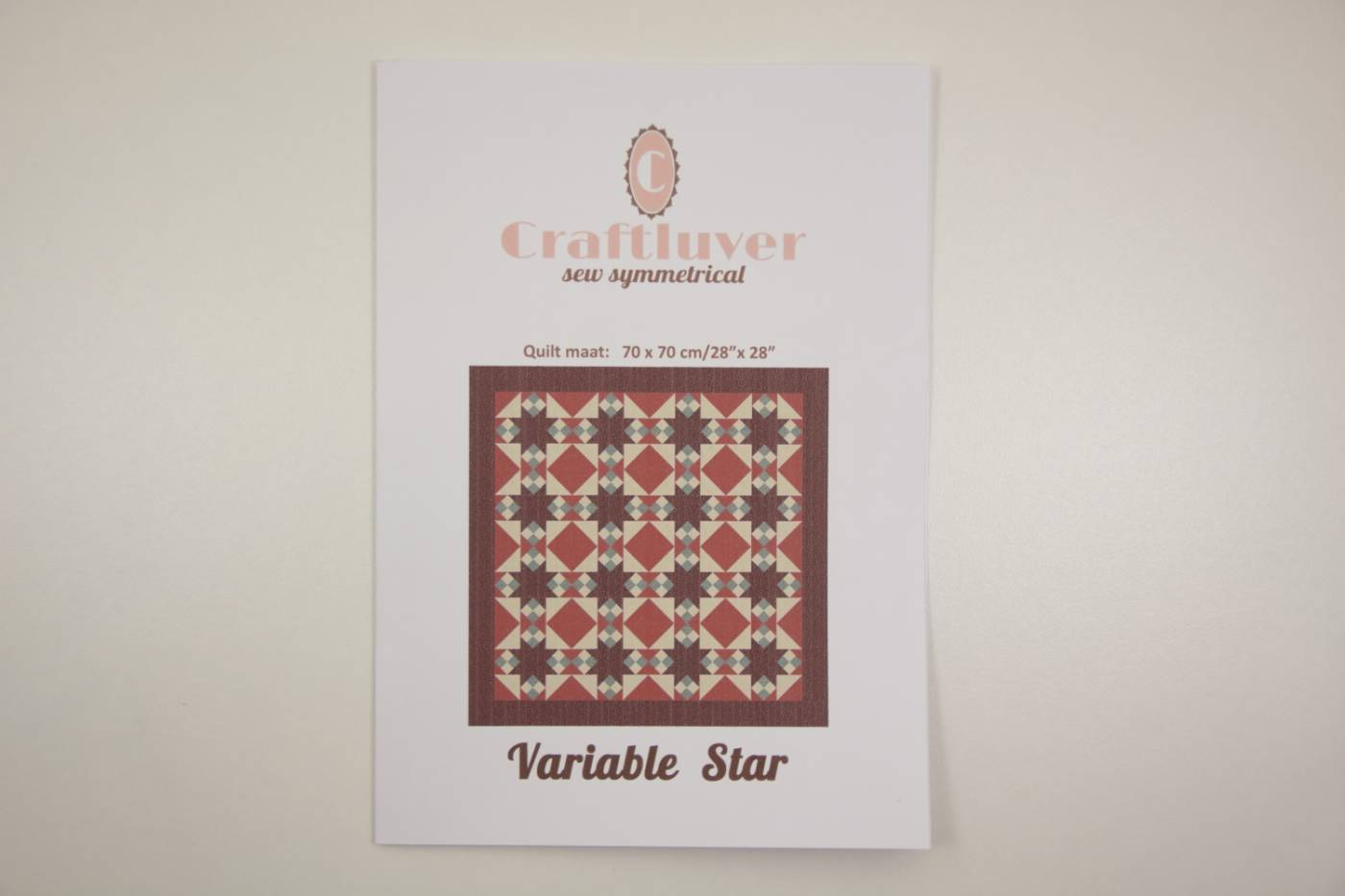 Quiltpatroon Variable Star Craftluver 70
