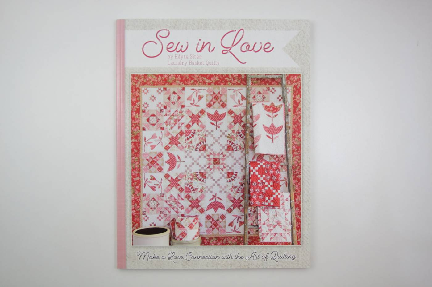 Sew in Love-patchwork-Edita Sitar-engels