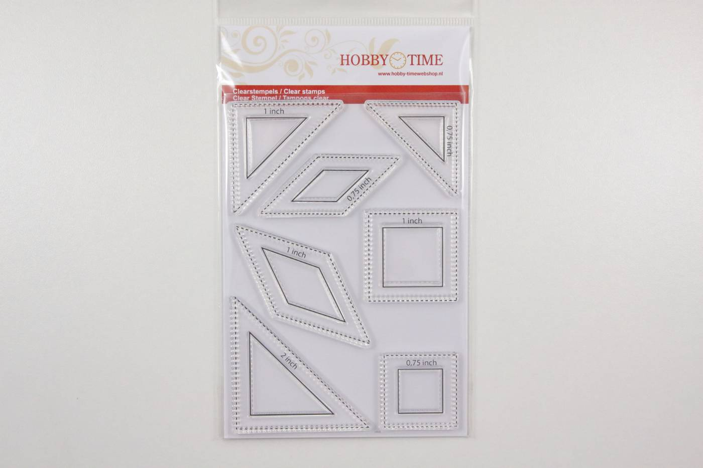 Correctie quiltstempel hobby time Le moy