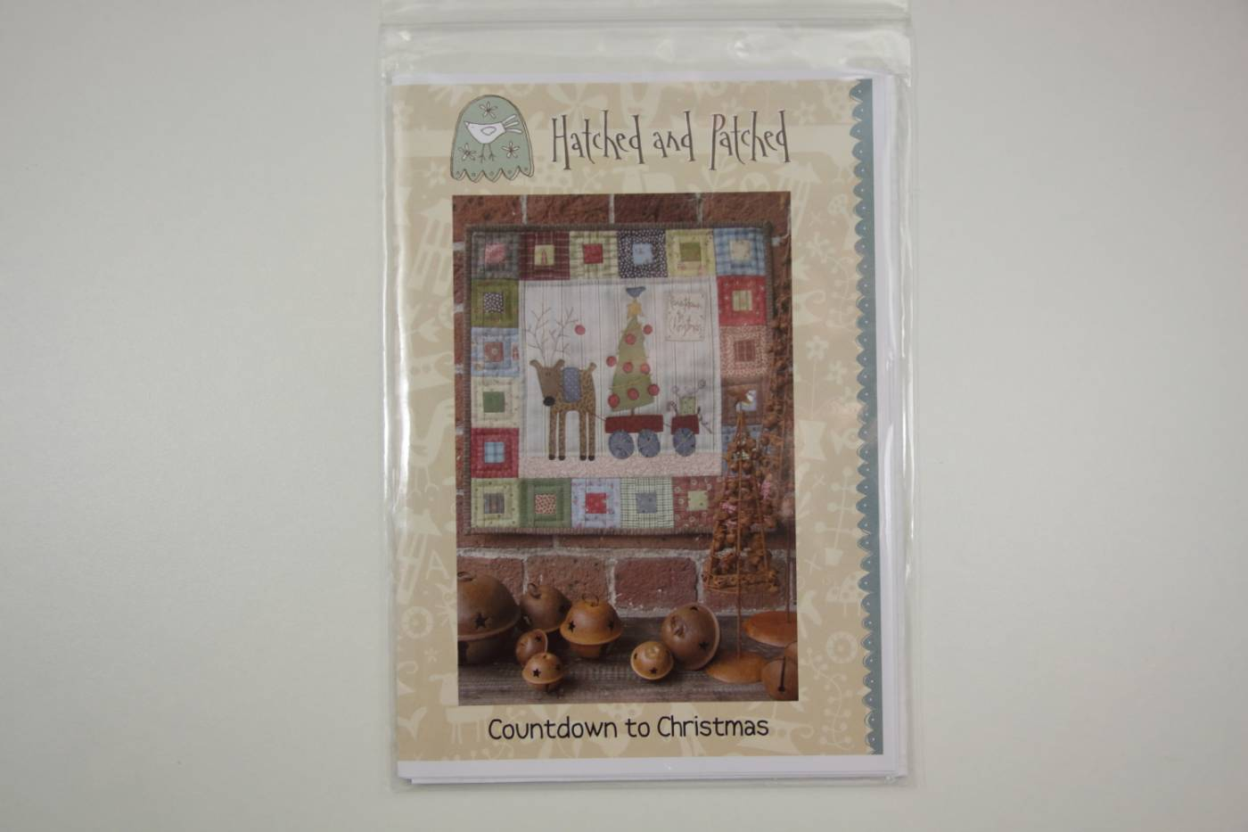 Quiltpatroon met applicatie-Countdown to