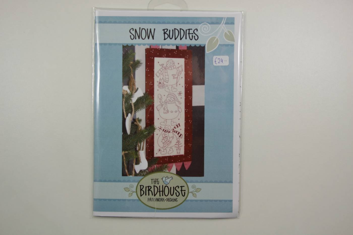 Stitcherie patroon-Snow Buddies-borduurp
