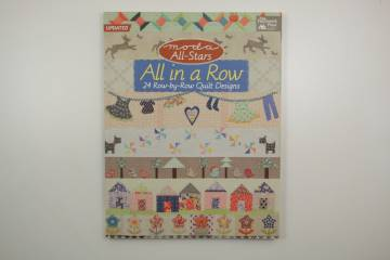 quiltboek All in a row-patchwork randen-